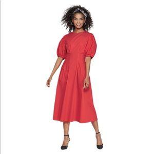 Who What WearRes Puffed Sleeve Midi Dress